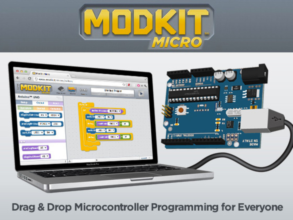 Modkit Micro: The Easiest Way to Program Microcontrollers's video poster
