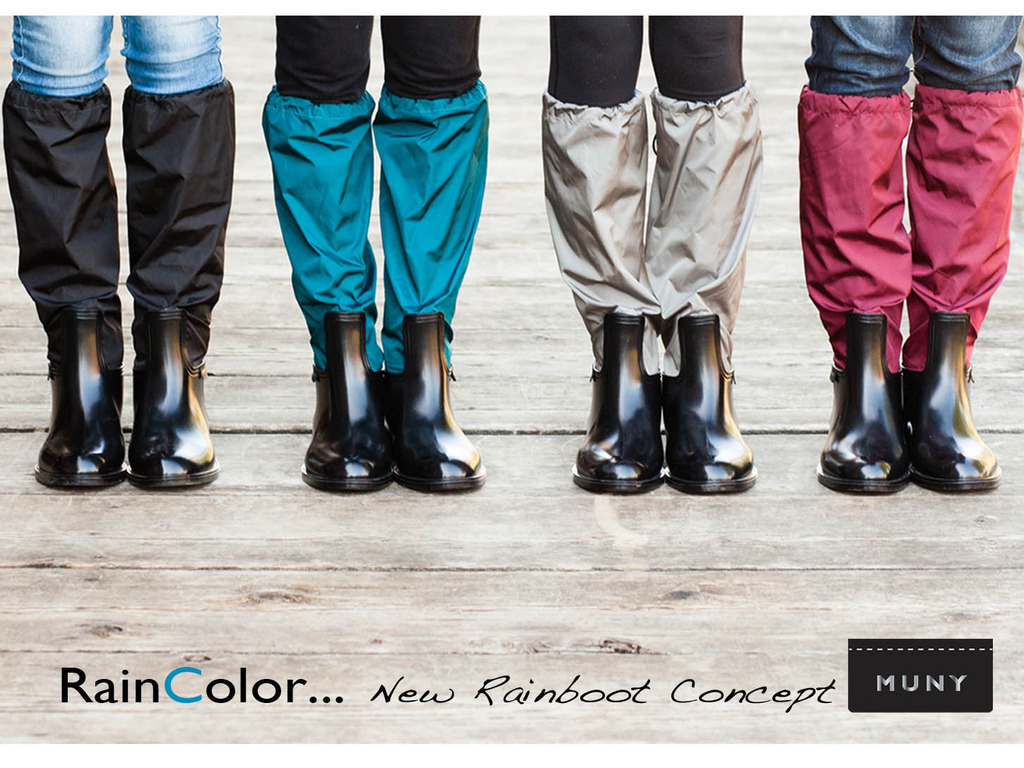 RainColor... New Rainboot Concept's video poster