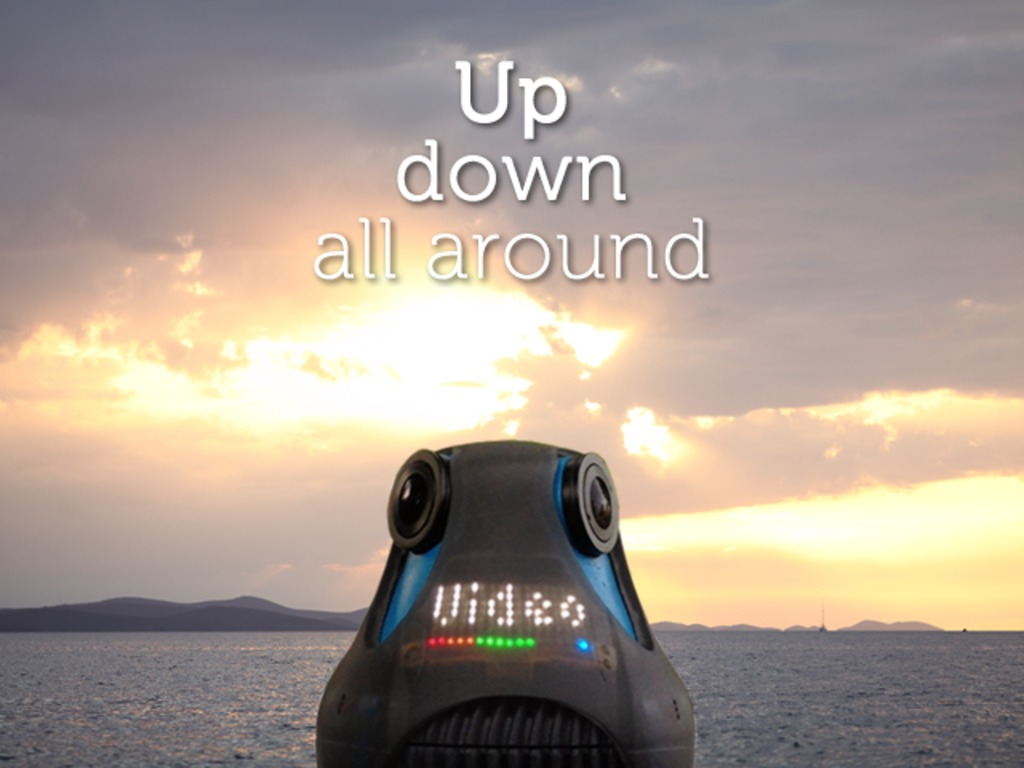 The World's First Full HD 360° Camera's video poster