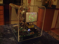 The Oscilloscope Clock
