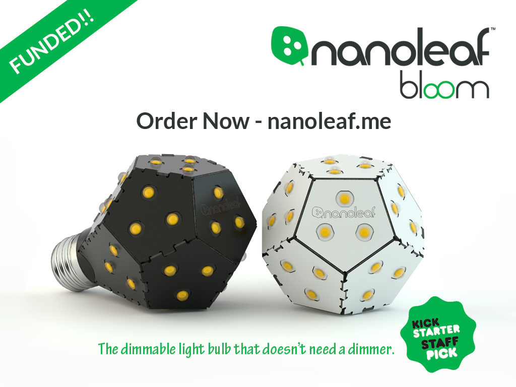Nanoleaf Bloom: A New Way to Dim Your Lights!'s video poster