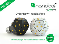 Nanoleaf Bloom: The first bulb that dims without a dimmer