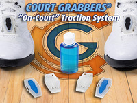 COURT GRABBERS: The 1st Traction System for Your Shoes