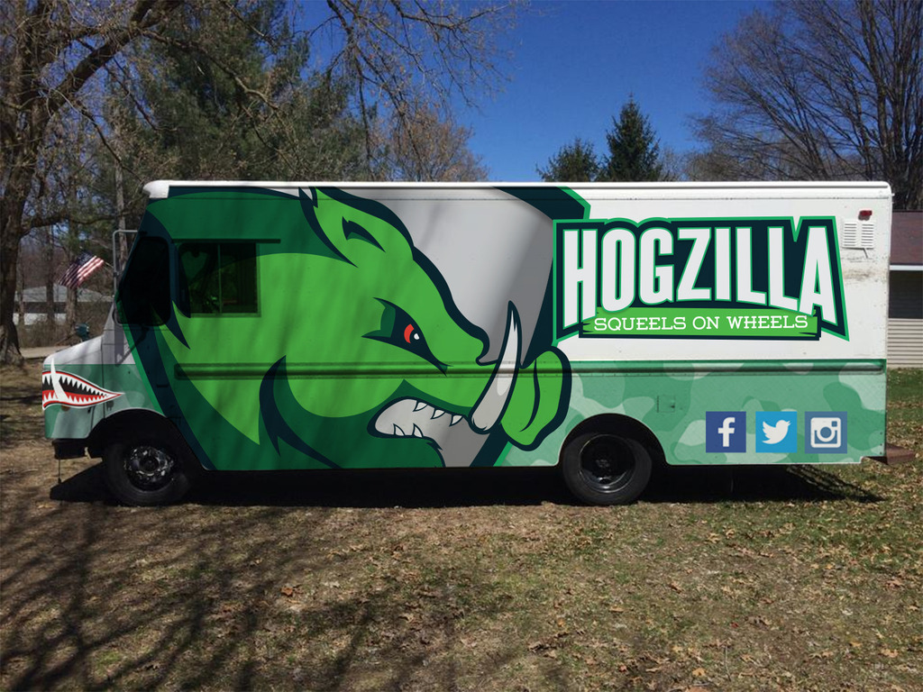 Hogzilla S.O.W. (Squeals On Wheels) A Veteran Owned Company's video poster