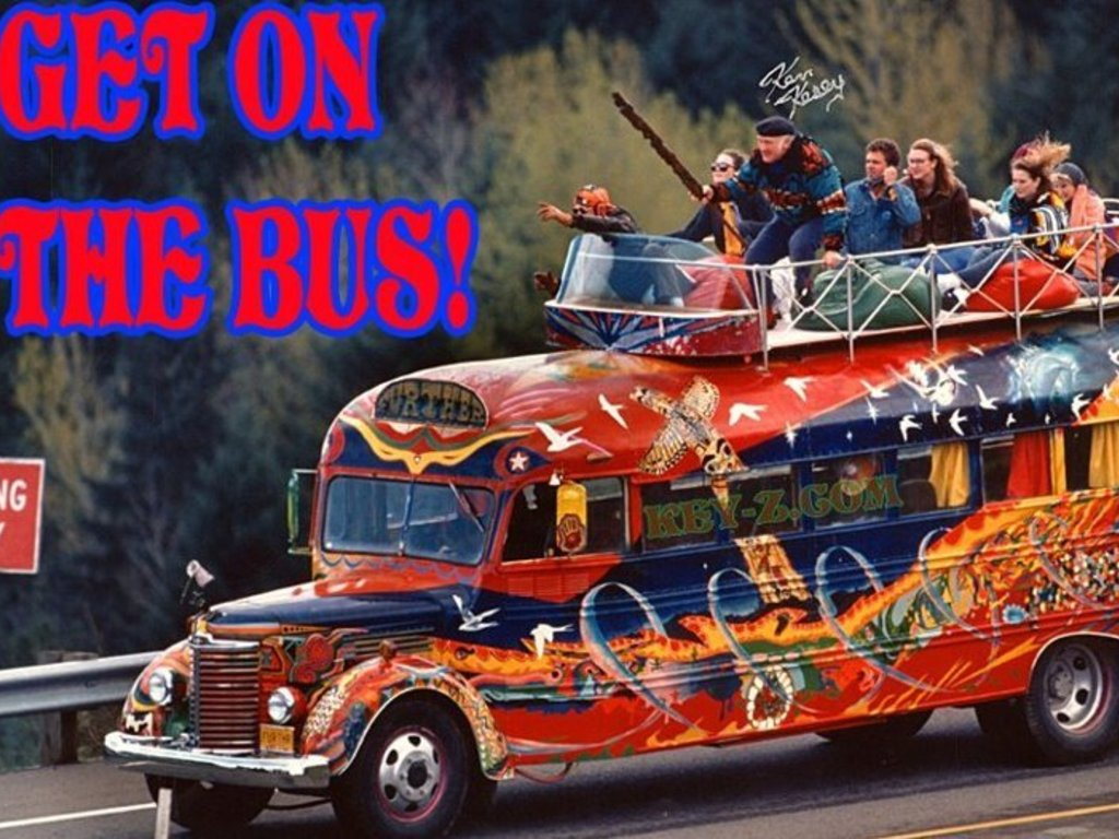 "Furthur Bus 50th Anniversary ""Trip""'s video poster"