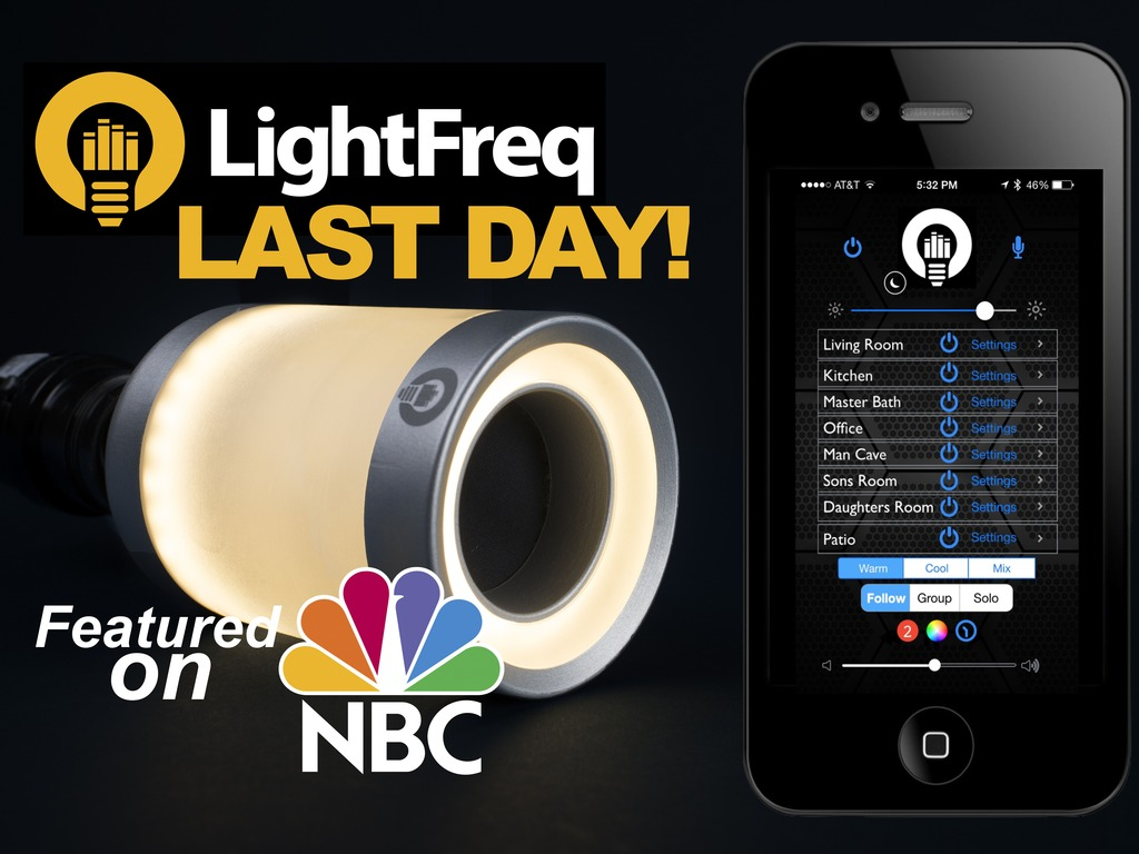 """LIGHTFREQ:""""The lovechild of Philips hue and Jambox"""" BOOM's video poster"""
