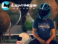 LightMode - Electroluminescent Motorcycle Helmets