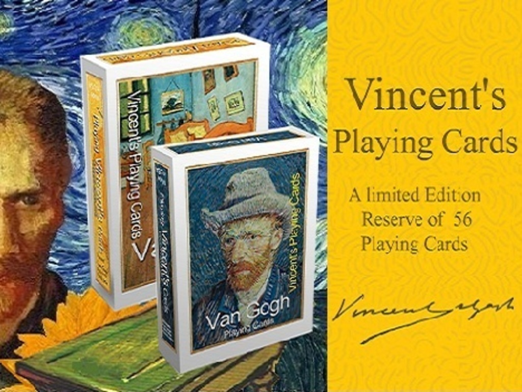 Vincent's Playing Cards - Van Gogh (Canceled)'s video poster