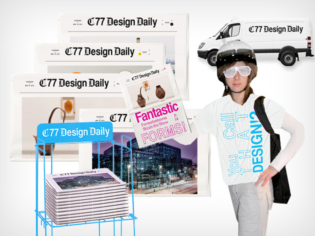 The C77 Design Daily: A Printervention's video poster