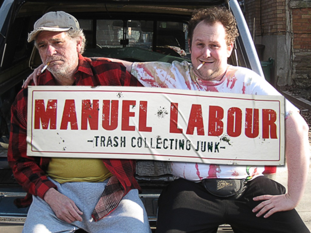 Manuel Labour - Trash Collecting Junk's video poster
