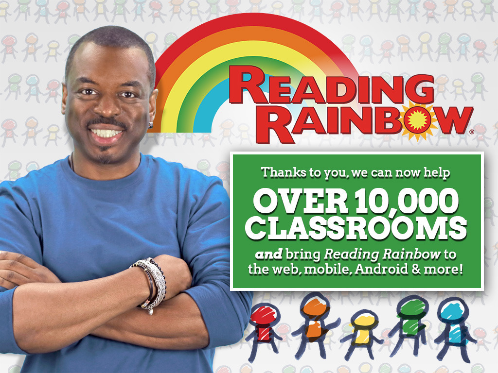 Bring Reading Rainbow Back for Every Child, Everywhere!'s video poster