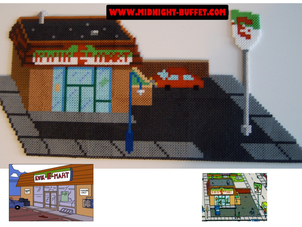 Project Springfield- Creating the multi-layered 3D landscape from The Simpsons's video poster