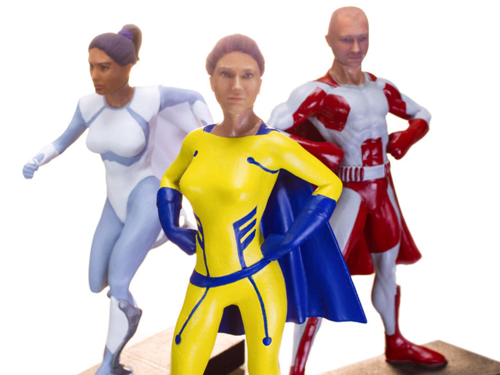Be A Superhero Action Figure's video poster