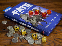 Fate Tokens: Metal tokens for Fate™ games