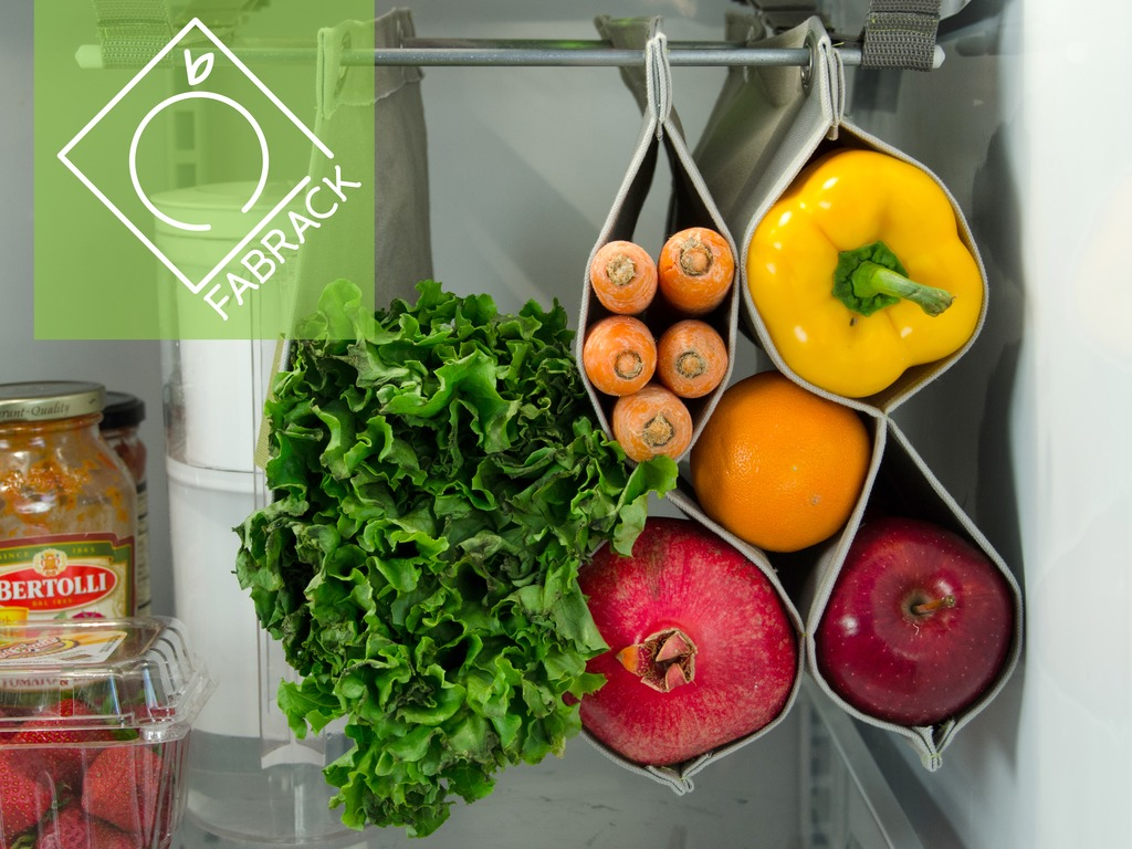 Fabrack: Free Your Food: Produce Storage Tool For The Fridge's video poster