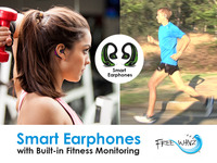 FreeWavz:  Smart Earphones with Built-in Fitness Monitoring
