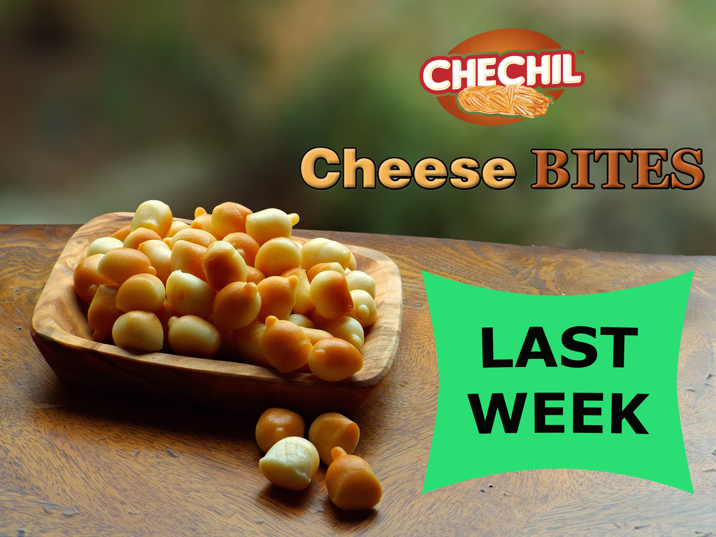 CHECHIL BITES: GRAB N' GO CHEESE SNACK (Canceled)'s video poster