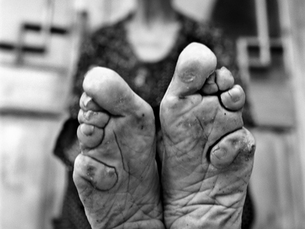 Living History: Bound Feet Women of China's video poster