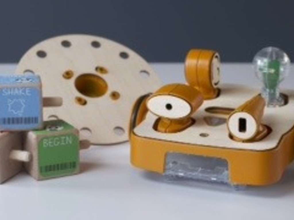 KIBO: Young kids programming robots with wooden blocks's video poster