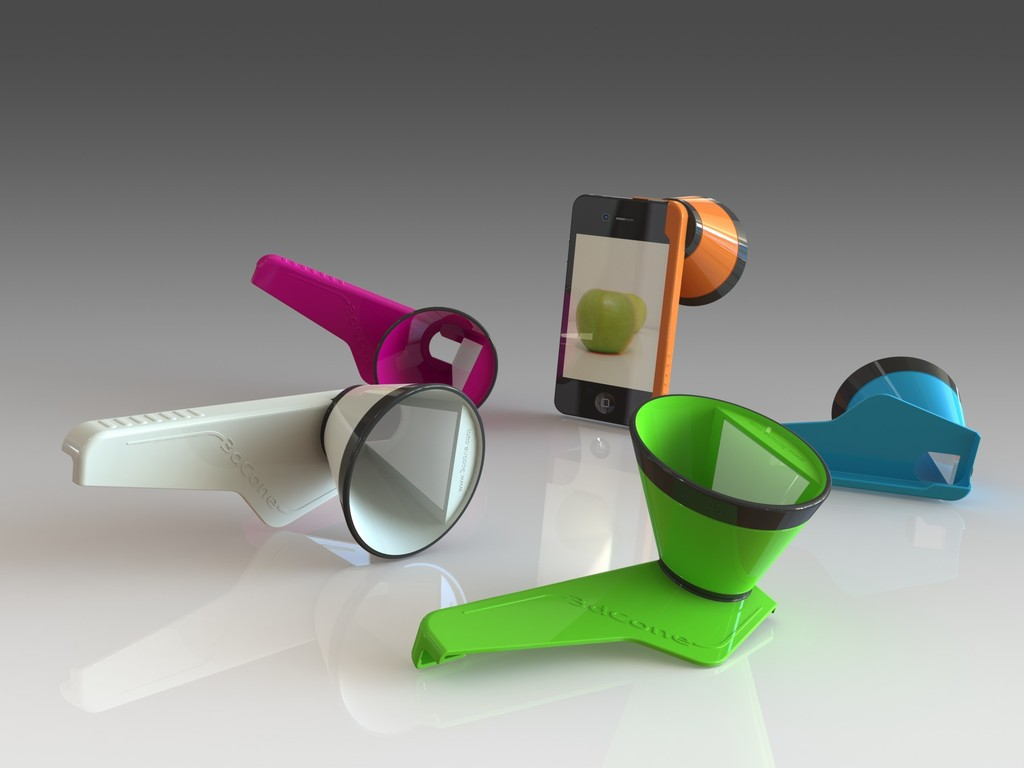 3DCone: make 3D Stills & Videos with your iPhone's video poster