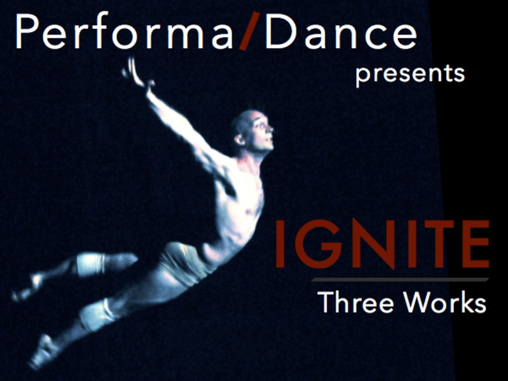 Performa/Dance presents IGNITE: Three Works's video poster