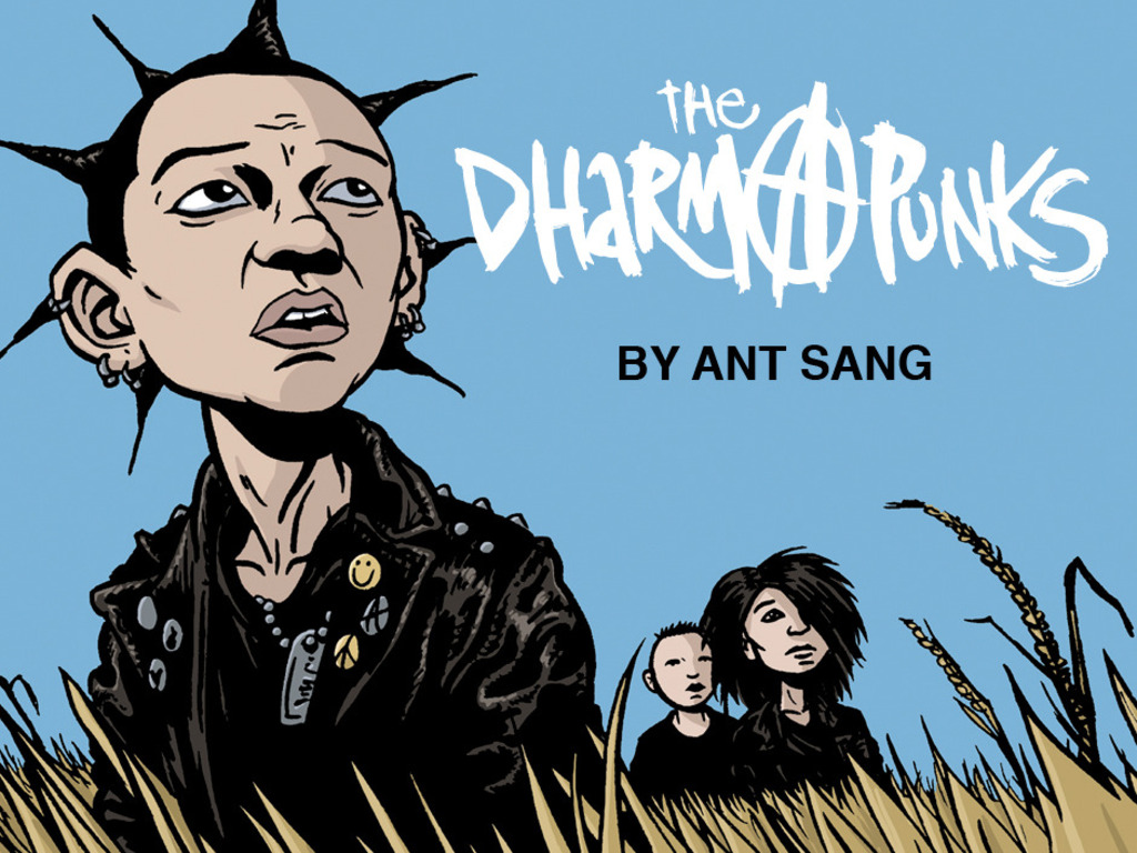 The Dharma Punks Graphic Novel's video poster