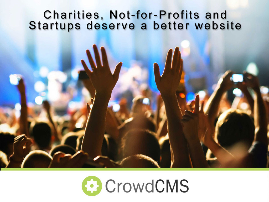 Crowd CMS - Help us Get Charities and Nonprofits Online's video poster