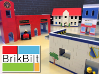 BrikBilt toy buildings: imaginative kids' play in an eco way