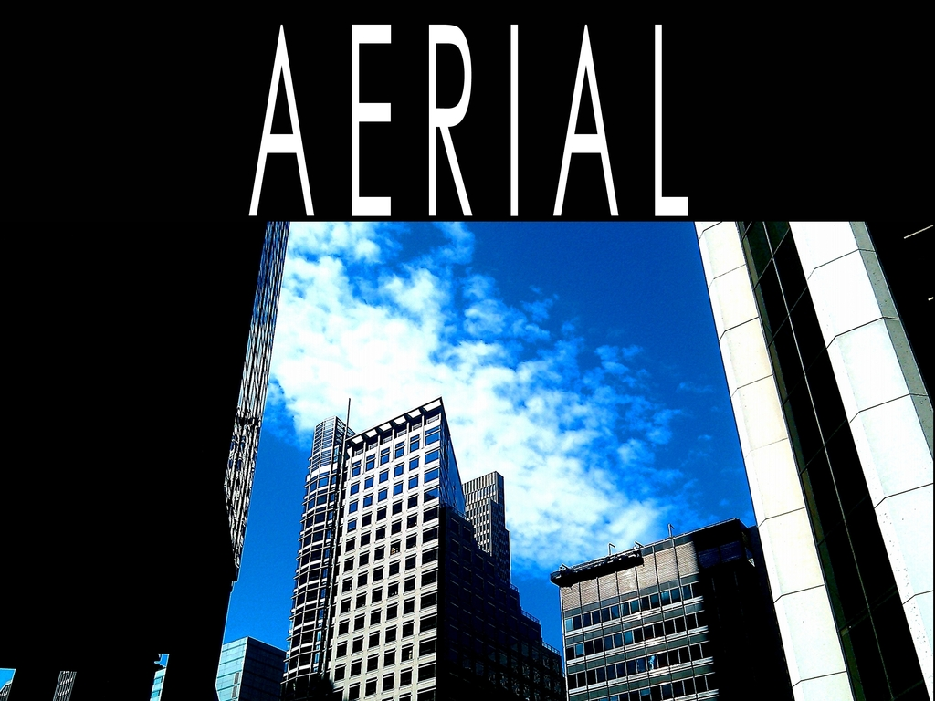A E R I A L - The Movie's video poster