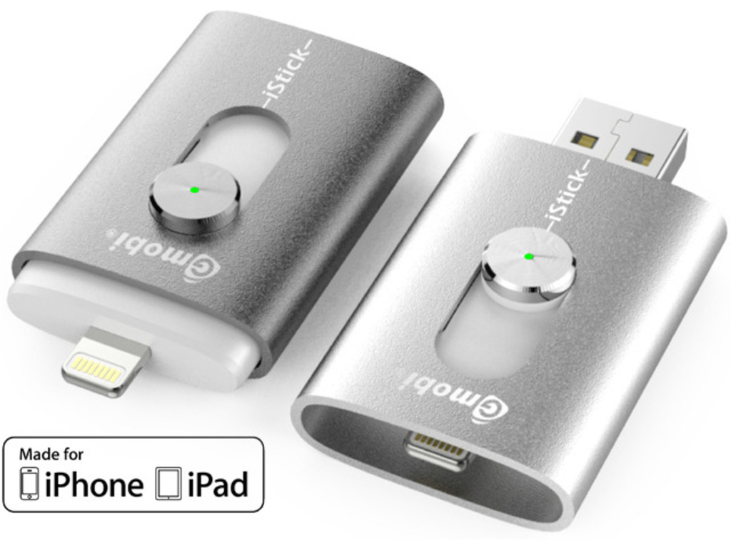 iStick™: USB Flash Drive with Lightning for iPhone and iPad's video poster