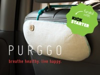 PURGGO: Bamboo Charcoal Car Air Eco-Purifier