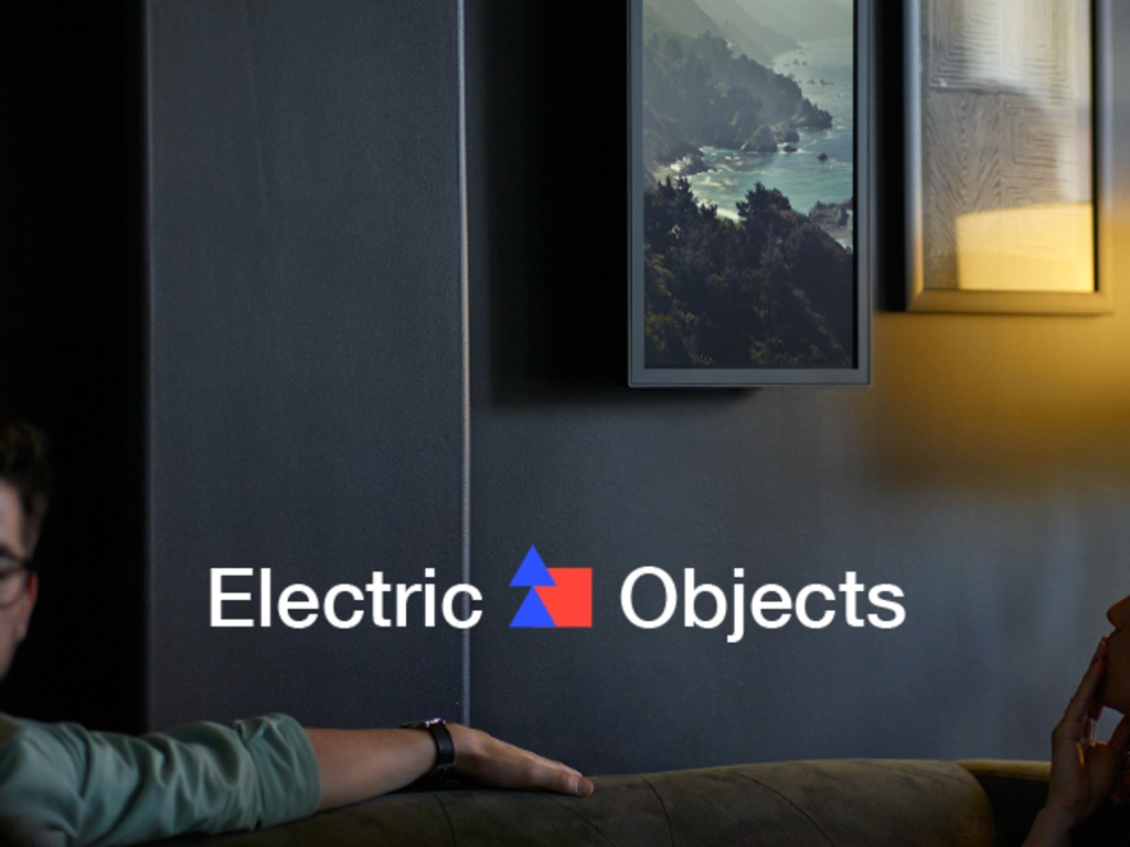 Electric Objects: A Computer Made for Art's video poster