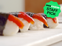 Tomato Sushi | Sustainable Vegan Tuna