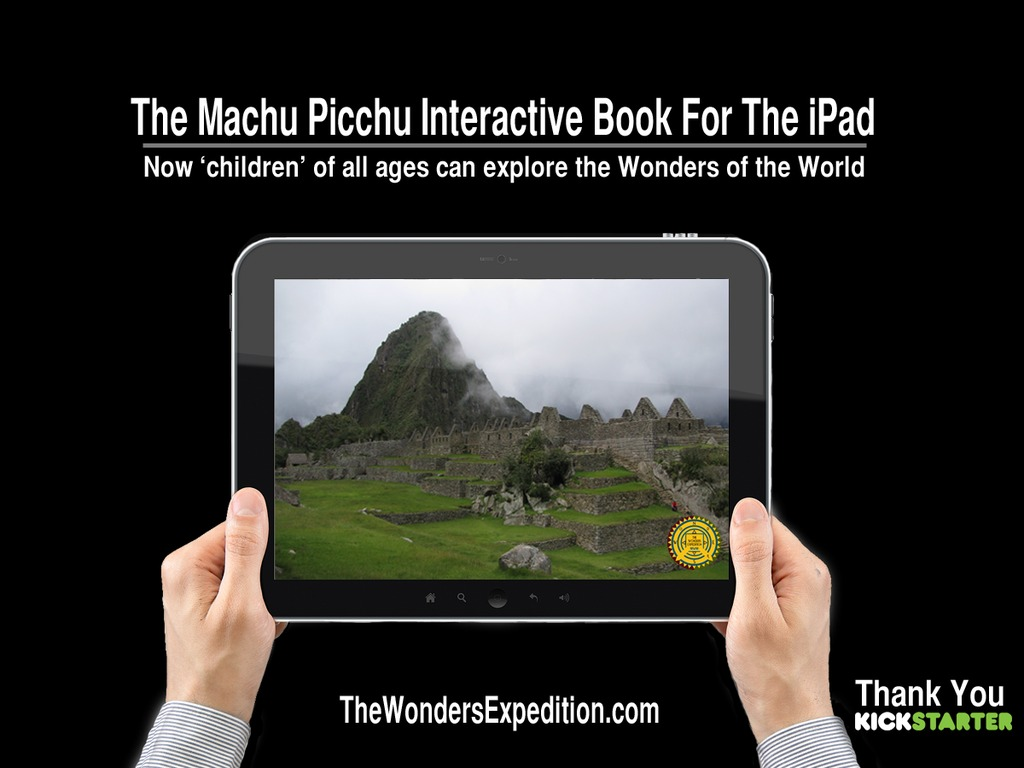 The Machu Picchu HD Interactive Book for iPad's video poster