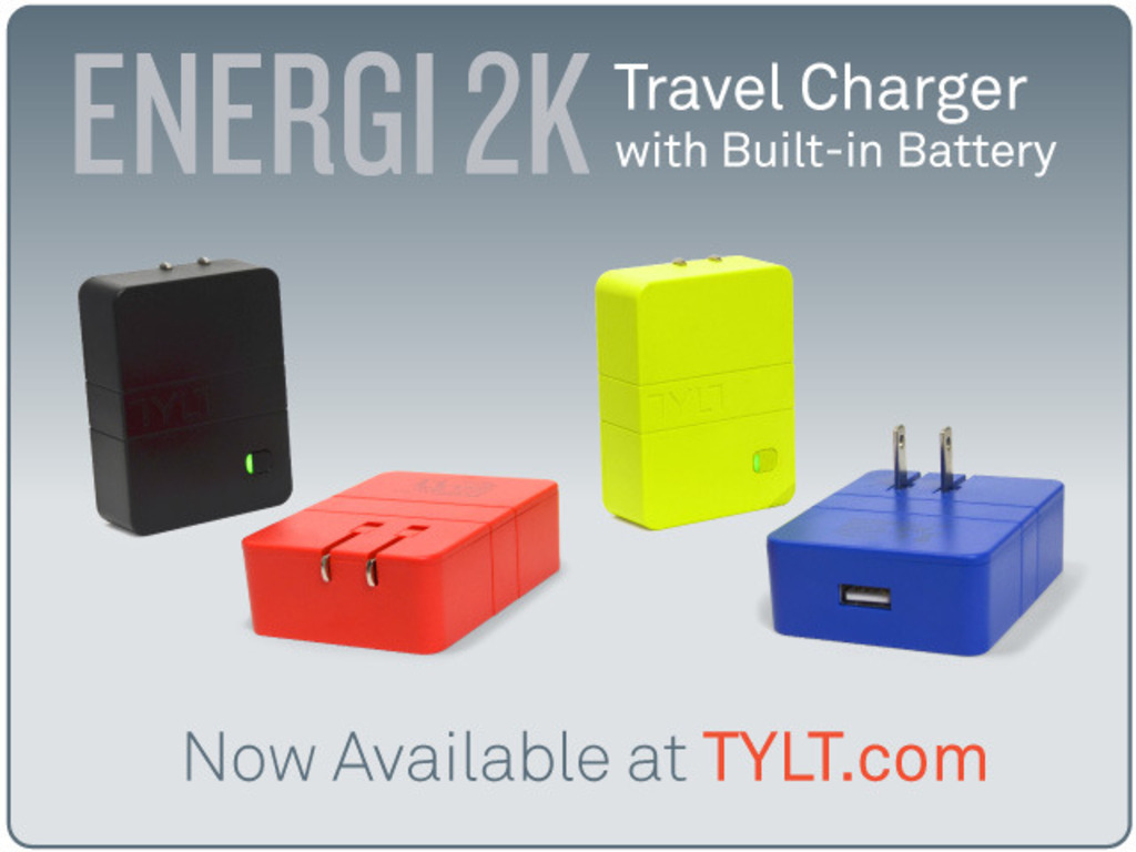 Worlds Most Affordable Wall Charger with Battery by TYLT's video poster
