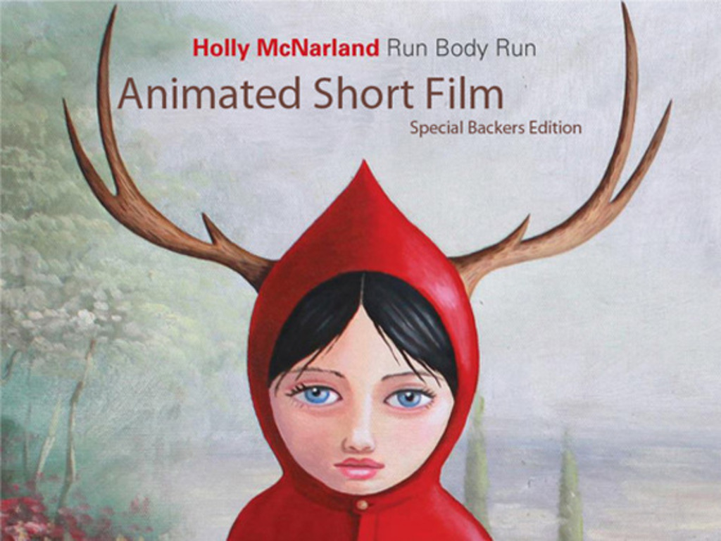 Holly McNarland's Run Body Run, an Animated Short Film.'s video poster