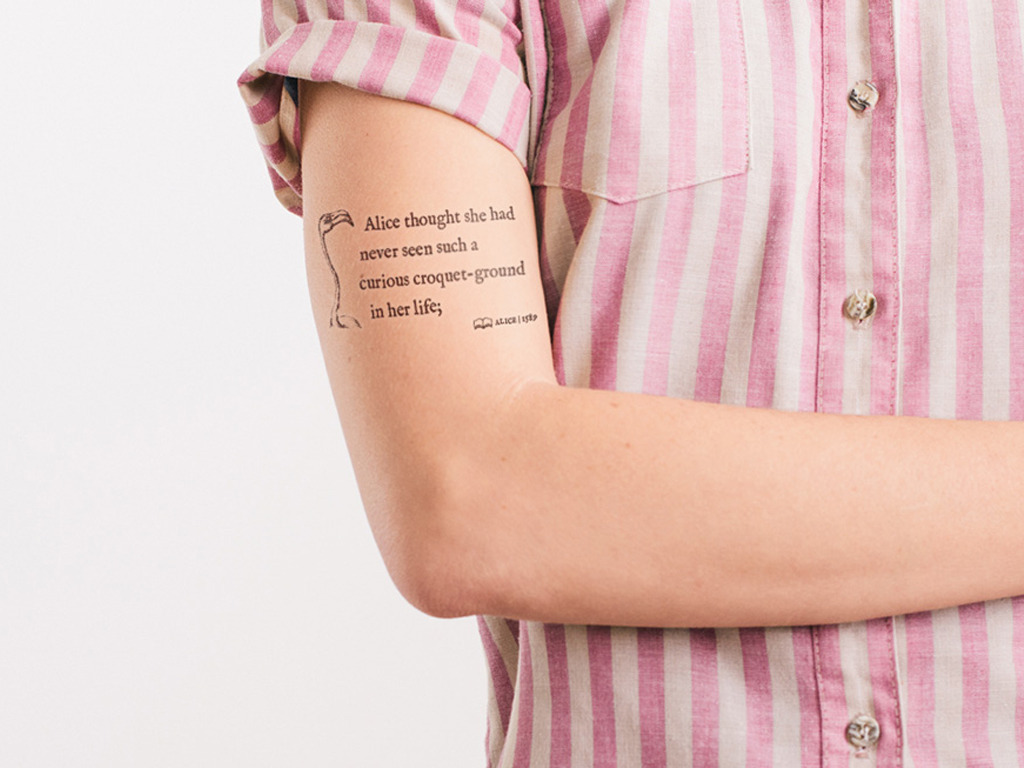 Litographs Tattoos: Wearable Tributes to Iconic Books's video poster