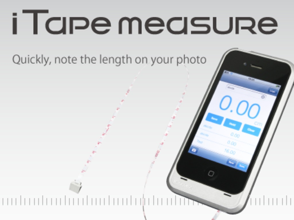 iTapemeasure : iPhone case with a tape measure.'s video poster