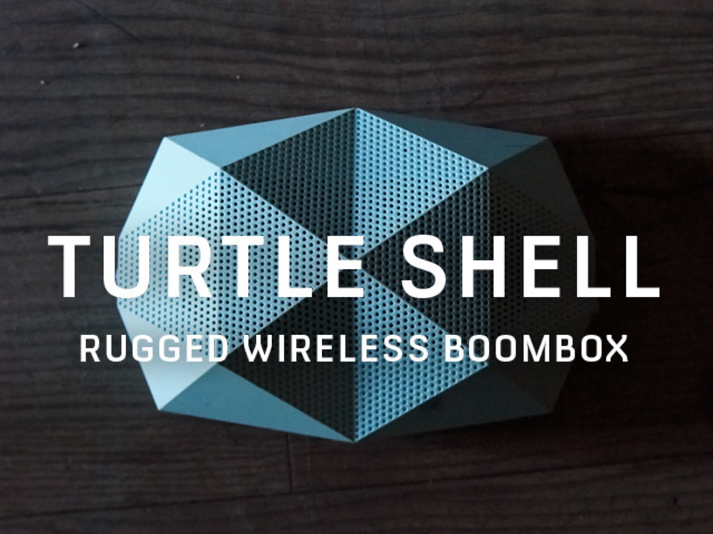The Turtle Shell® Rugged Wireless Mountable BoomBox's video poster