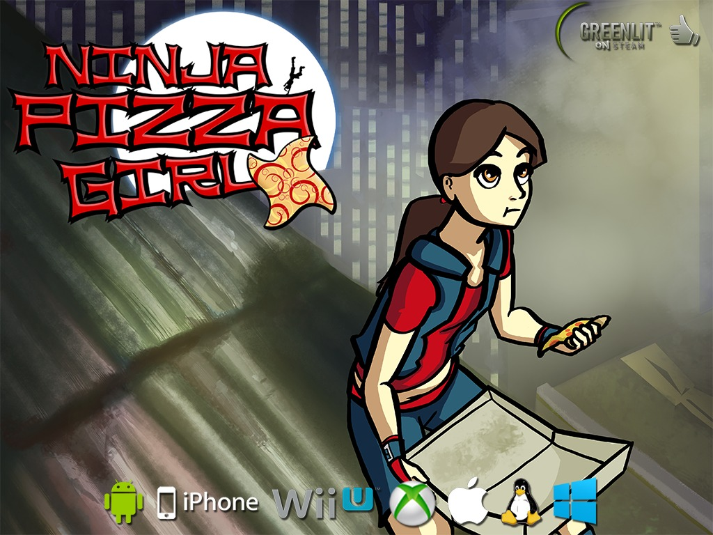 Ninja Pizza Girl's video poster