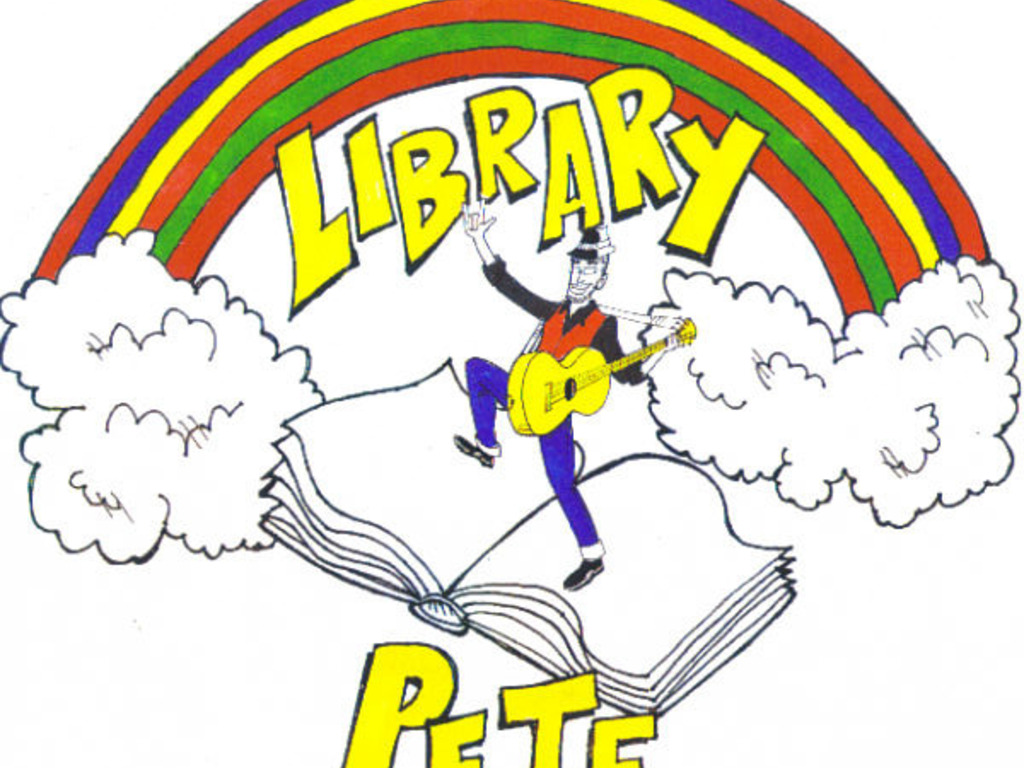 Library Pete and the Storytime Band's video poster