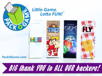 Pack O Game™ - TINY card games that are FUN to play ANYWHERE