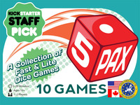 5Pax - Two-Player Dice Games, Travel-Size
