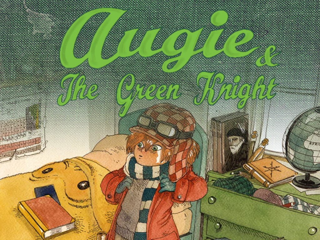 Augie and the Green Knight: A Children's Adventure Book's video poster