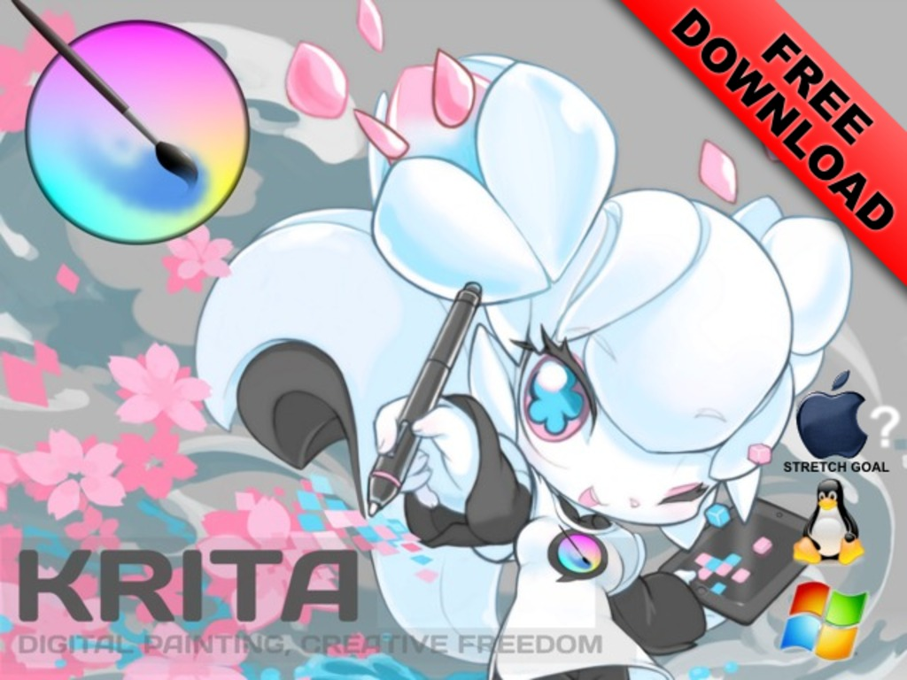 Krita: open source digital painting | Accelerate Development's video poster