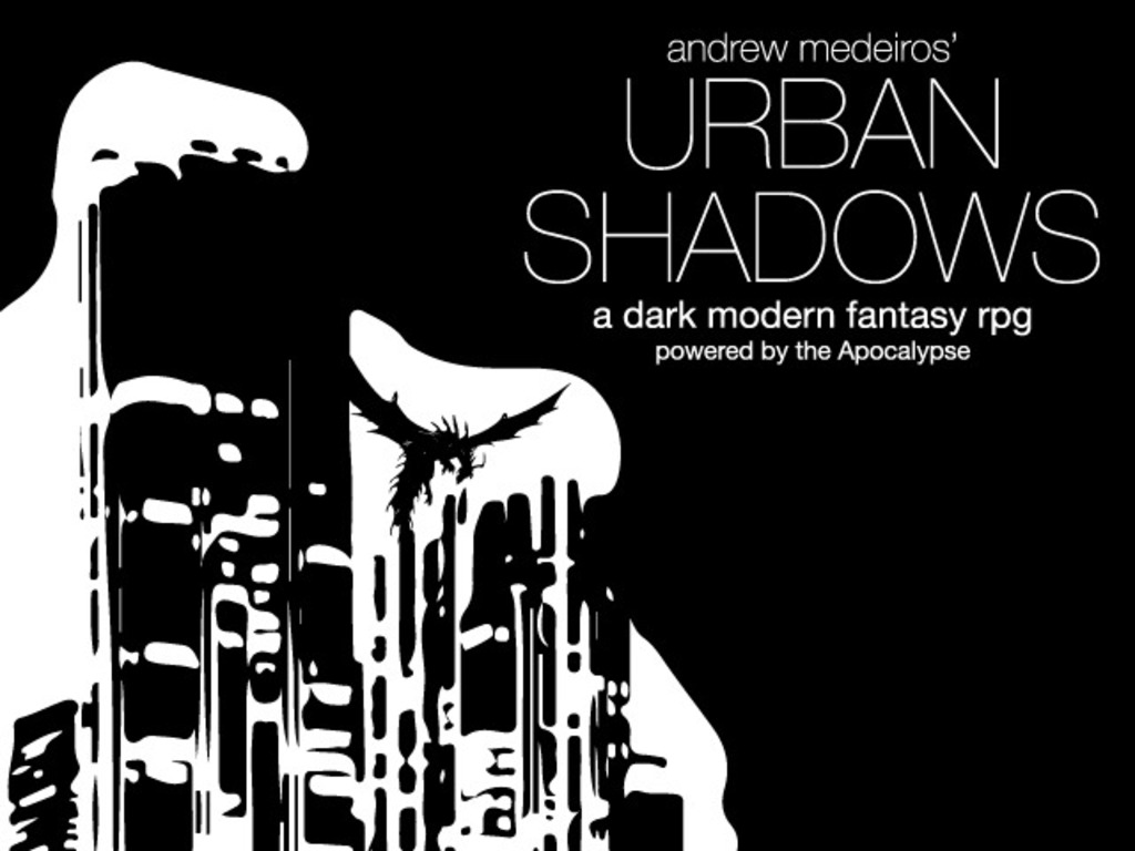 Urban Shadows RPG's video poster