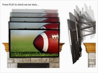 Own a Flat Screen TV?  MantelMount is for YOU!