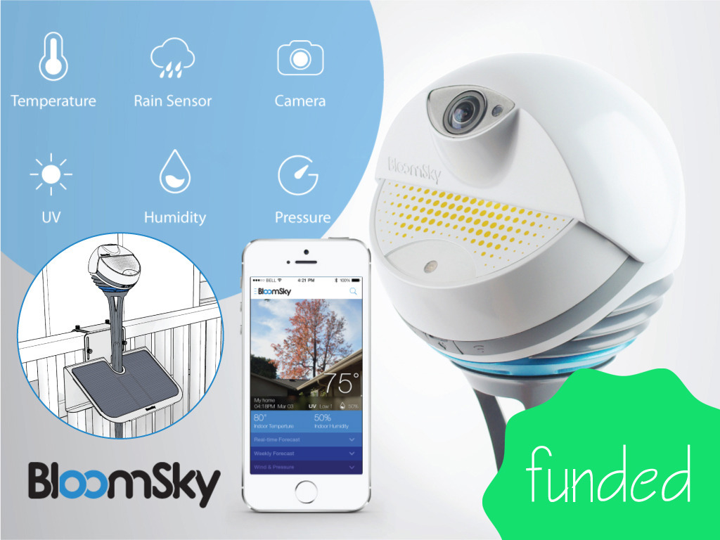 BloomSky: World's First Smart Weather Camera's video poster