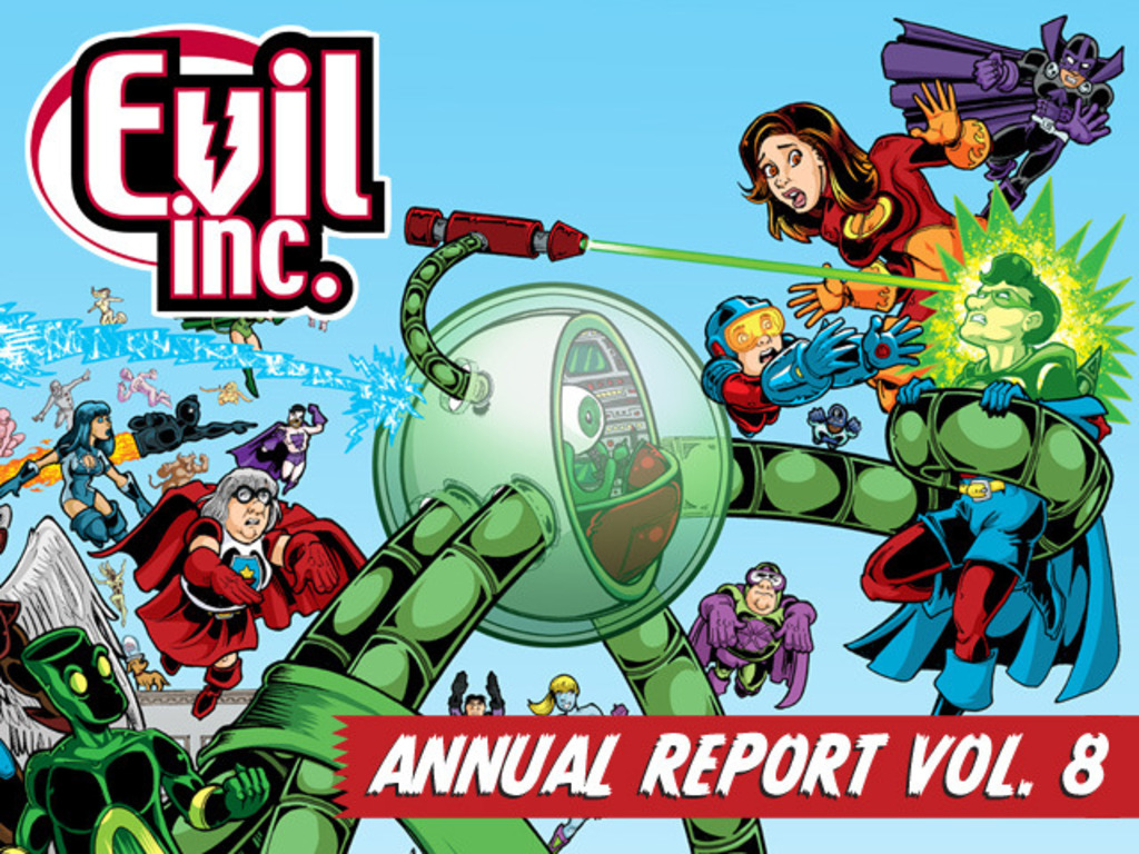 Evil Inc Annual Report Vol. 8's video poster