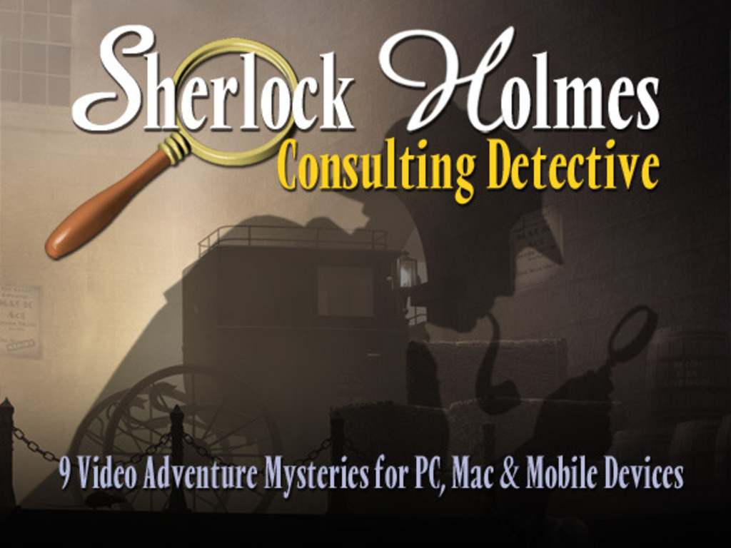 Sherlock Holmes Consulting Detective Adventure Mysteries's video poster